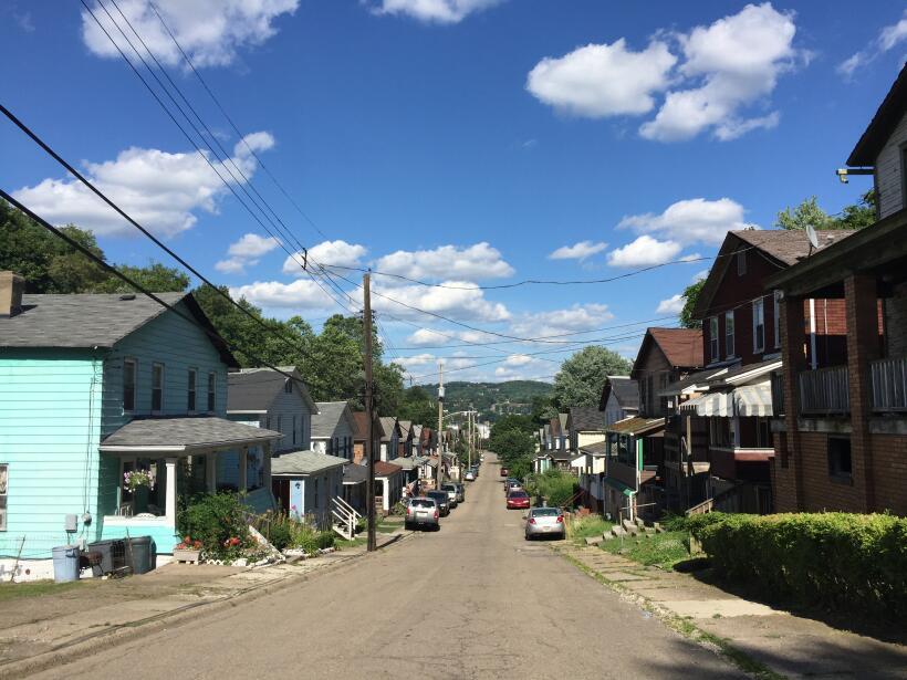 J&L construyó casas para los trabajadores en calles como Bake...