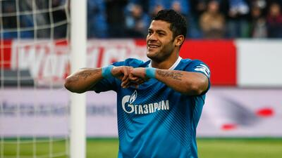 El brasileño es delantero del equipo del Zenit.