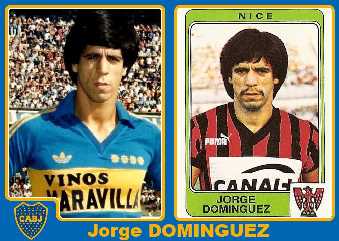 Jorge Domínguez tuvo un breve paso por Boca en 1978 y luego regresó de 1...