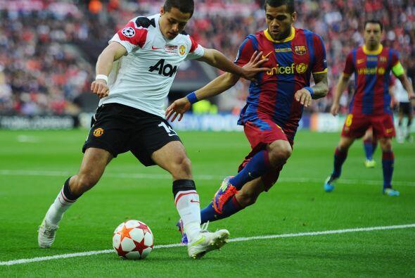 Hernández incluso ayudó a que el United llegara hasta la final de la Cha...