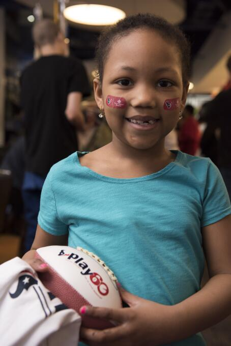 Houston Texans visitaron hospital infantil
