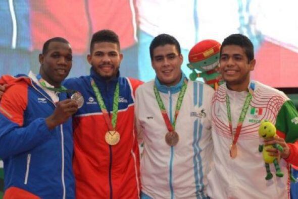 Con el dominio de República Dominicana, al ganar dos medallas de oro, cu...