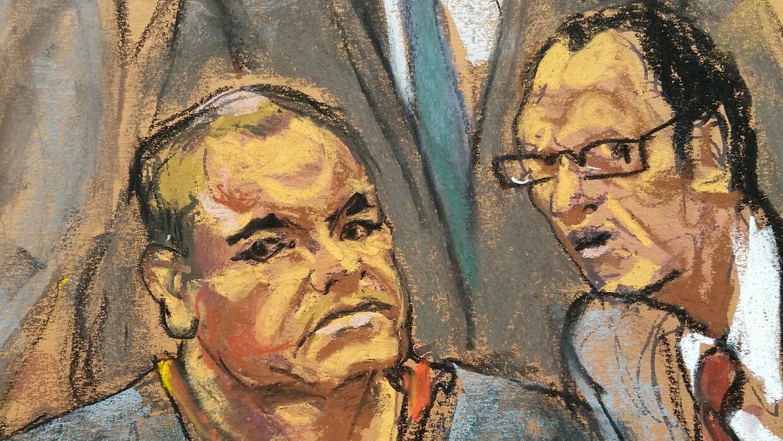El Chapo en la corte