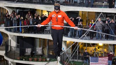 Así rompió 2 récords Nik Wallenda, revive su hazaña completa