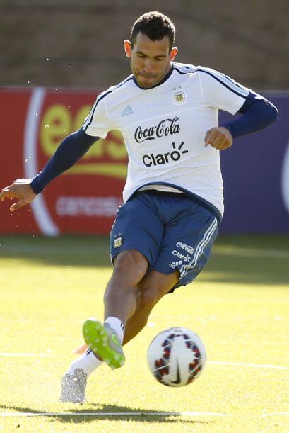 Carlos Tévez tuvo una sublime temporada con la Juventus de Turín donde l...