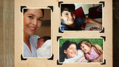 Mariana Levy e hijos