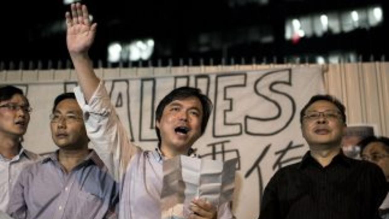 Edward Chin, el financiero que respalda las protestas en Hong Kong.