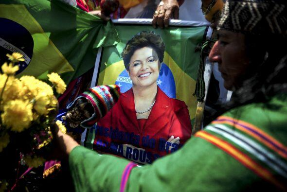 Dilma Rousseff, la electa presidenta de Brasil fue una de las elegidas....