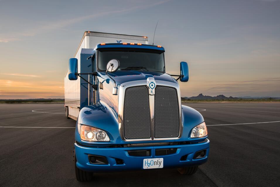El camión tráiler concepto de Toyota es rápido, no contamina y se alimen...
