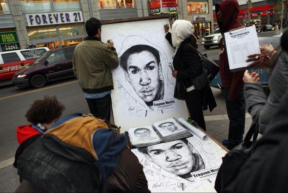 Desde el pasado 6 de julio, Zimmerman, de 29 años, espera en libertad ba...