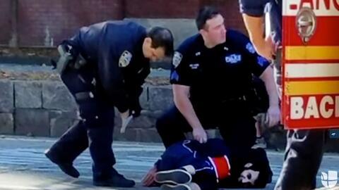 El presunto atacante de Nueva York fue detenido poco después de a...