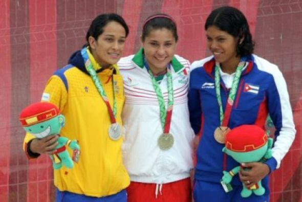 La mexicana Dolores Hernández obtuvo su primer título en l...