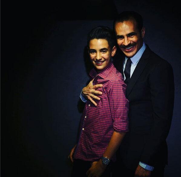 Jorge Poza y su hijo Sebastián Poza