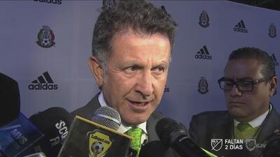 Juan Carlos Osorio: 'Estamos seguros que podemos armar un gran equipo'