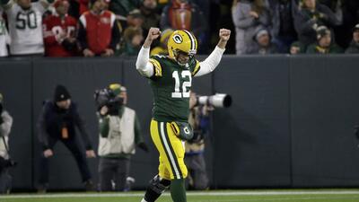 En fotos: Los Packers obtienen agónica victoria en casa ante unos valientes 49ers