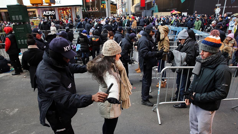 Refuerzo de seguridad en Manhattan
