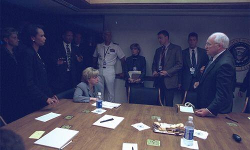 Los funcionarios de alto nivel del gobierno de Bush. (Imagen del Archivo...