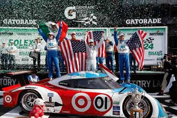 Al final, la victoria fue para el Riley-BMW 01 con solo dos segundos de...