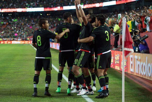 Eduardo Herrera fue el autor del gol que dio el triunfo al Tri respondie...