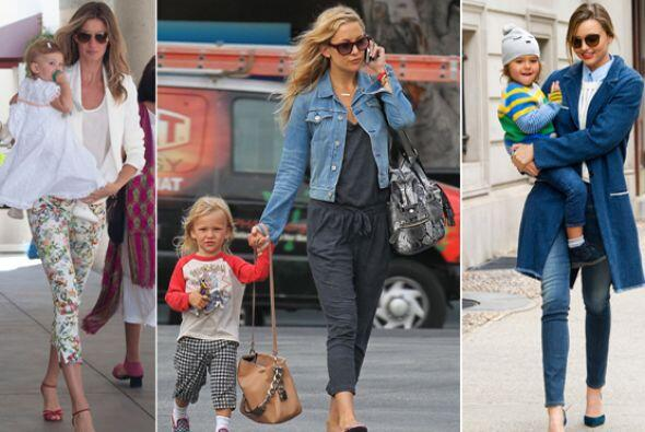 ¡Estas 'celebrities' además de ser hermosas mamás se...