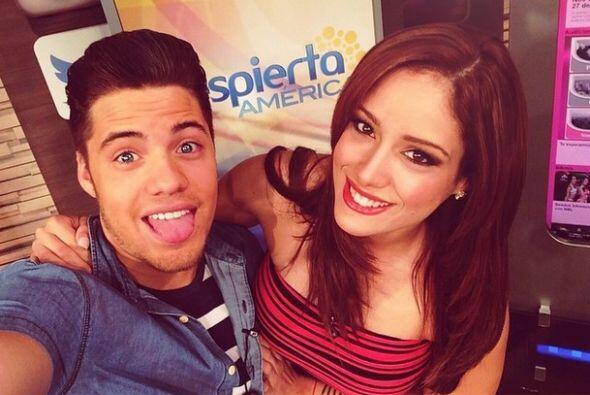 """""""Pregúntale a @aleydaortiz todo sobre @NuestraBellezaLatina ella estará..."""