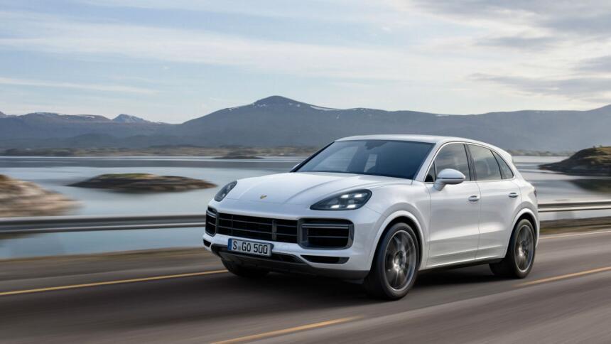 Porsche convierte a la Cayenne Turbo en todo un deportivo Cayenne 01.jpg