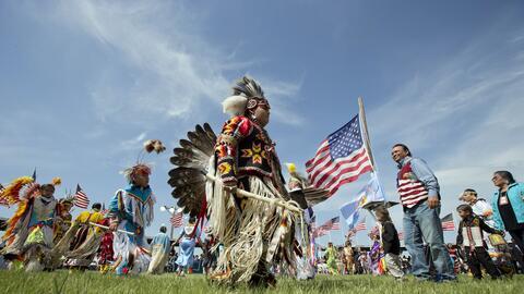 Las comunidades sioux consideran que el oleoducto pasa por tierras sagradas