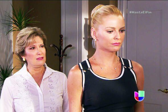 No te enojes con tu mamá Sofía, ella te ama con todo su corazón, aunque...