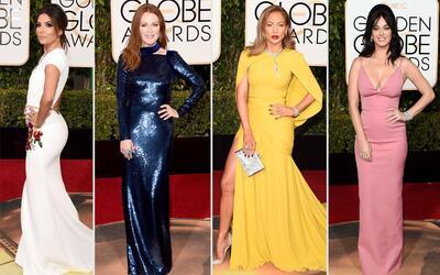 El brillo de los Golden Globes en 1 minuto
