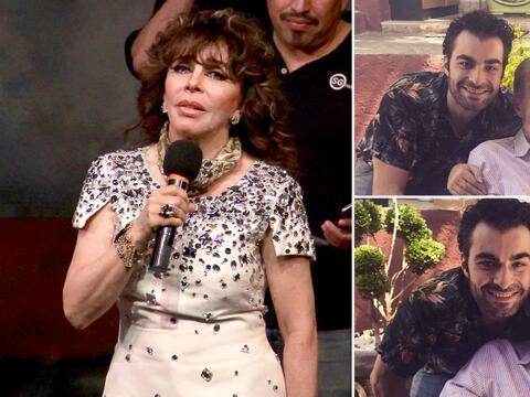 Verónica Castro pide ayuda para Rogelio Guerra