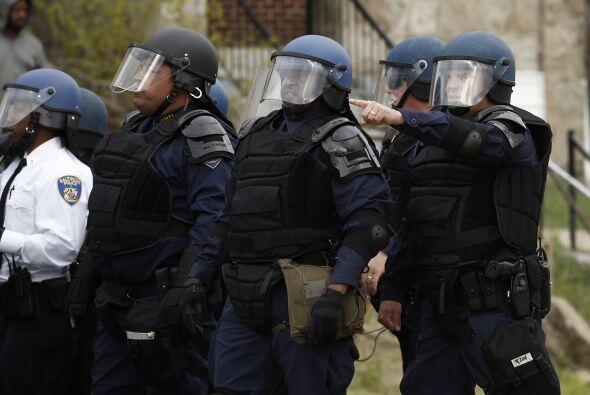 """Horas antes, el departamento policiaco informó que había recibido una """"a..."""