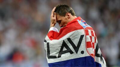 Se va: Mario Mandzukic le dice adiós a la selección de Croacia