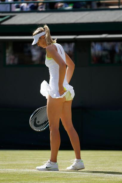 Pero el destino le puso a la alemana Sabine Lisicki en octavos de final.