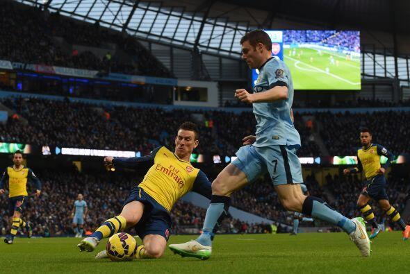 Manchester City intentó igualar el marcador con una serie de variantes m...