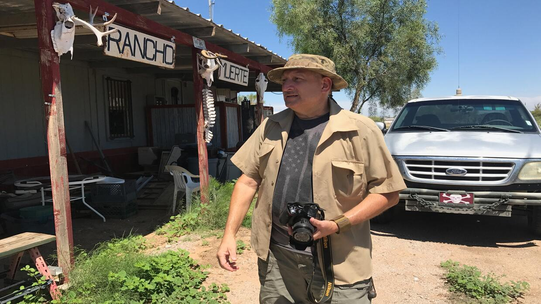 Harry Hughes, director del grupo US Guard Bord, considerado uno de los g...