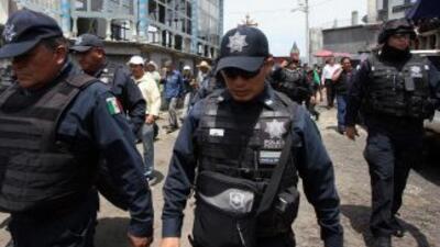Policías federales mexicanos.