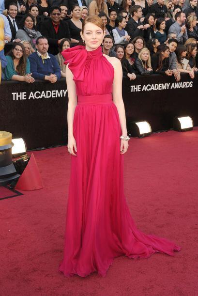 El aspecto 'preppy' y 'glamouroso' de Emma Stone la han colocado como un...