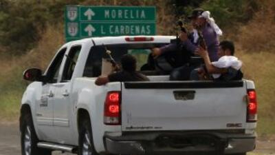 Según la alerta, la violencia en el estado ha generado la reacción de gr...