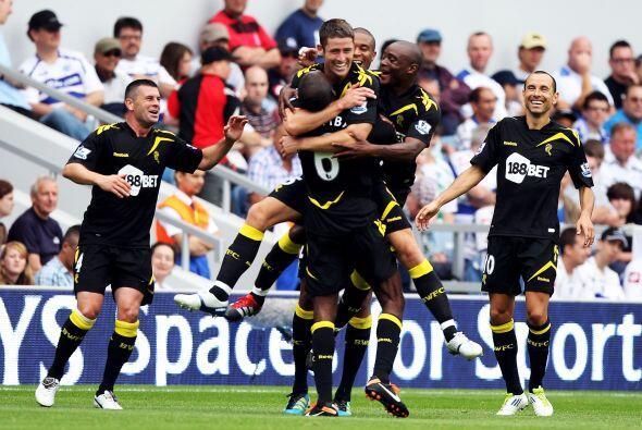 La goleada de la fecha lo propinó el Bolton. Le ganó 4 a 0 al ascendido...
