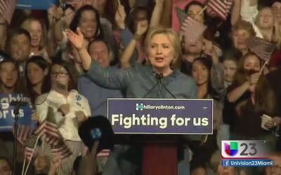 Hillary, cada vez más cerca a la candidatura presidencial