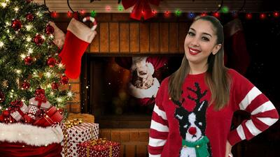 Mafer Alonso asegura que su mamá trabajó para Santa y así pagó por sus regalos de Navidad