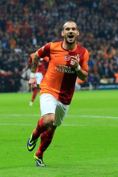 Wesley Sneijder realizó una gran Copa del Mundo por lo que el ahora DT d...