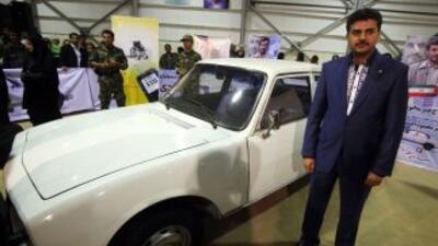 El Peugeot 504 de 1977 que condujo Mahmud Ahmadineyad hasta ser elegido...