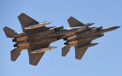 La venta de los F-15 asciende a más de 12,000 millones de d&oacut...