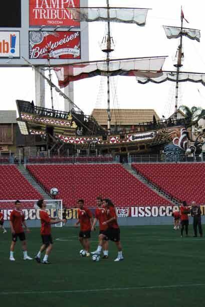 El Estadio Raymond James, sede de los Bucaneros, será el escenario del p...