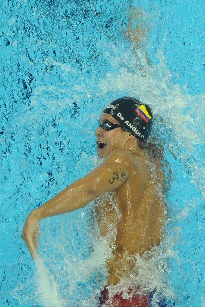 Mientras que El venezolano Mateo de Angulo consiguió otro oro en natació...