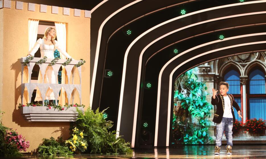 Las mejores fotos del vigesimocuarto show de Pequeños Gigantes USA.
