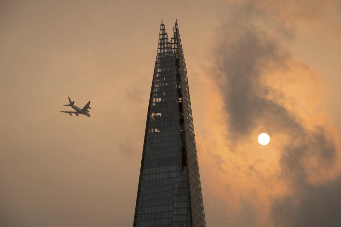 Fotos: Un cielo naranja sorprendió a los londinenses por culpa de un hur...
