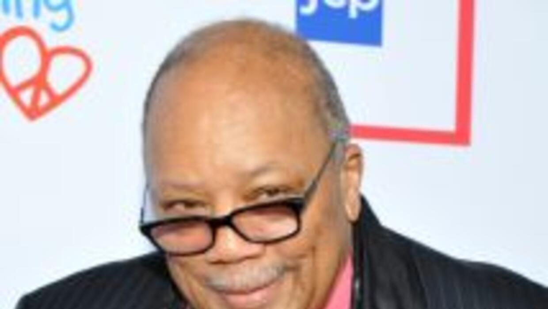 Quincy Jones alega en la demanda que no le pagaron por algunos trabajos...