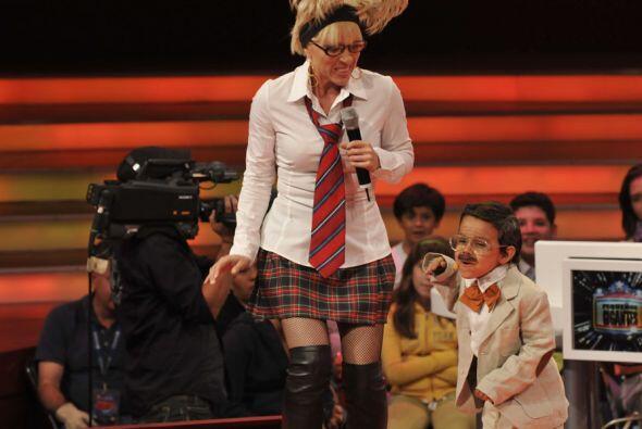 Uno de  los momentos más cómicos de la noche fue la representación de Ja...